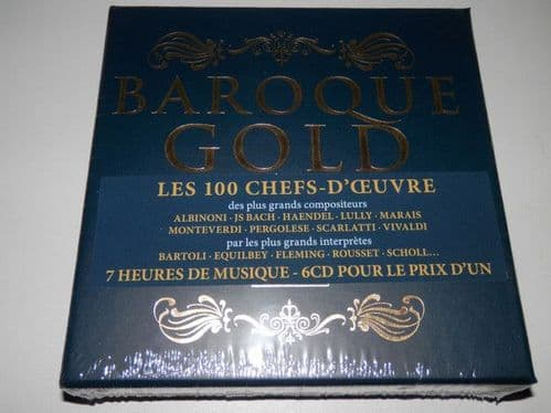 Various<br>Baroque Gold: 100 Great Tracks<br>6CD, Comp + Boxset